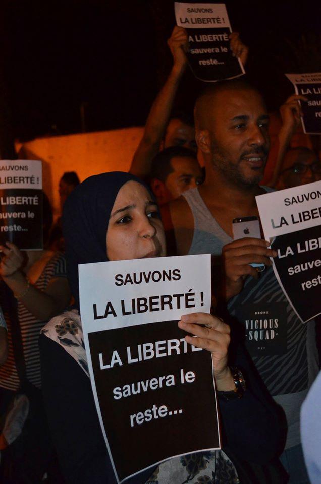 sauvons la liberté au maroc
