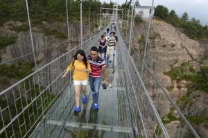 pont de verre pont des héros chine