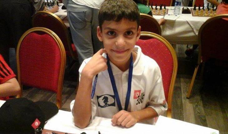 champion arabe tunisie jeux d'echec