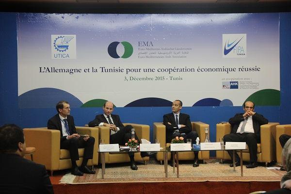 Les entreprises allemandes appellent la tunisie rem dier for Chambre de commerce en tunisie