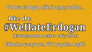 nous haîssons erdogan