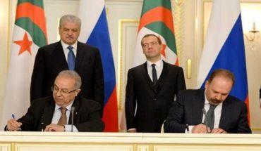 accords de coopération algérie-russie
