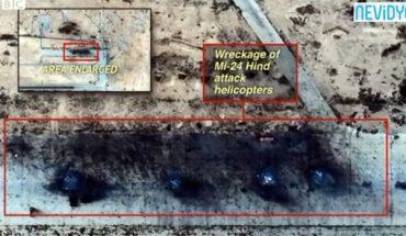helicopères russes détruits en syrie