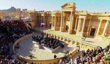 orchestre russe à palmyre libérée syrie