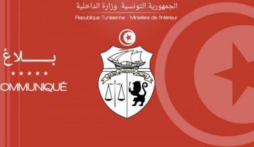 communique intérieur tunisie
