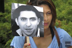 La femme de Raif Badawi, Ensaf Haidar, lutte pour faire libérer son mari