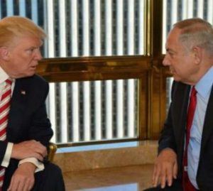 Trump-et-Netanyahu etats unis israel palestine