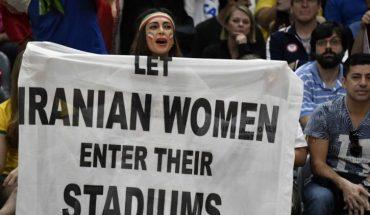 femme iranienne stade