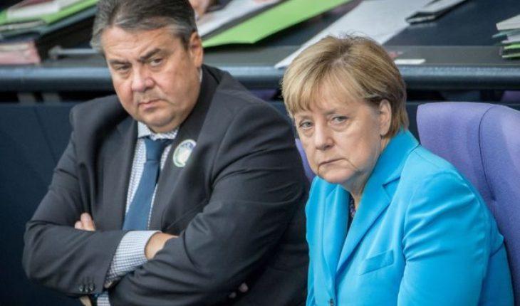 Merkel-Gabriel allemagne turquie
