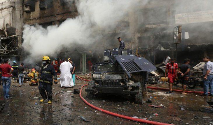 attentat voiture piégée bagdad irak