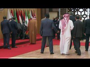 sommet arabe jordanie