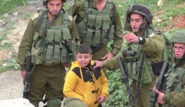 terrorisme isrélien sur les enfants palestiniens