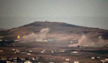 bombardement golan syrie