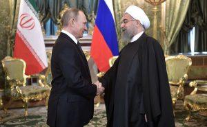 poutine-rohani iran russie