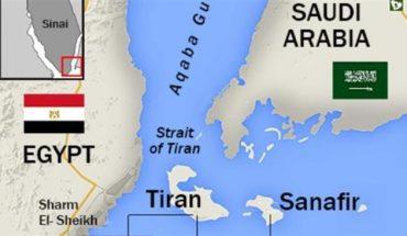 sanafir tiran egypte arabie saoudite