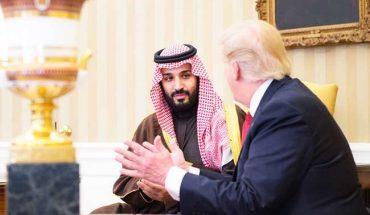 Trump BinSalman etats unis arabie saoudite