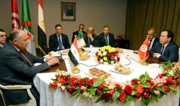 libye réunion tripartite tunisie algérie egypte