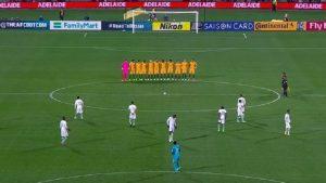 minute de silence australie arabie