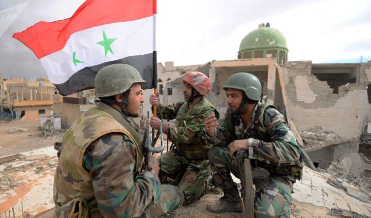 armée syrienne victoire