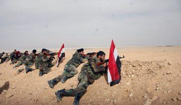 syrie avancée de l'armée syrienne