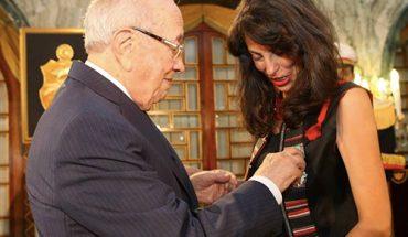 tunisie Caid-Essebsi-et-Leila-Toubel
