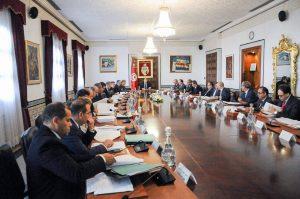TUNISIE CONSEIL DES MINISTRES