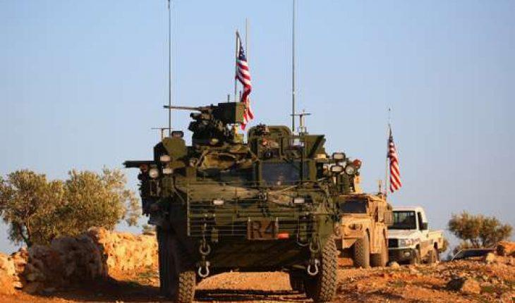 troupes américaines en syrie