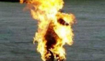 tunisie sejnane s'immoler par le feu