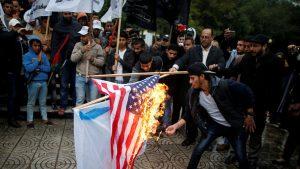 drapeau israelien brulé
