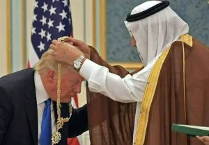 trump arabie