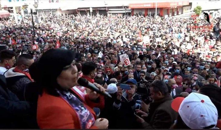 """A Béja , la dernière """"messe"""" de Ghannouchi est tombée à l'eau - Actualités  Tunisie Focus"""