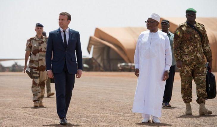 L'Afrique sous Macron donc la France ... ! Macron-mali-730x430